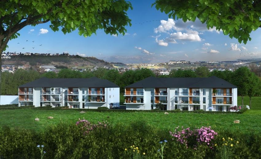 Les jardins de rosalie nouveau programme immobilier for Piscine onet le chateau