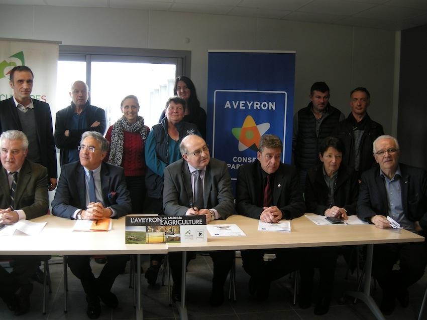 L aveyron prend toute sa place au salon de l agriculture for Chambre d agriculture paris